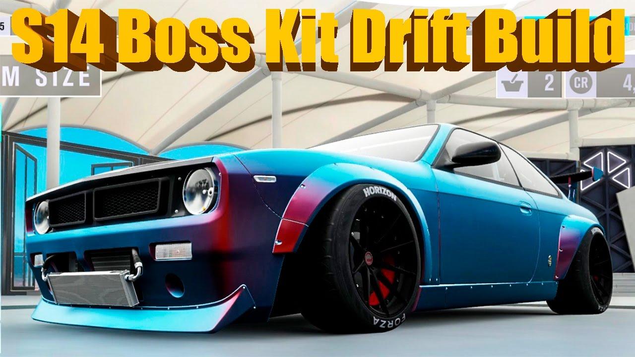 Forza Horizon 3 New Dlc Silvia S14 Boss Kit Widebody Drift Build