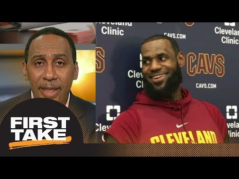 Stephen A Smith sides with LeBron James calling proposed playoff format wack  First Take  ESPN