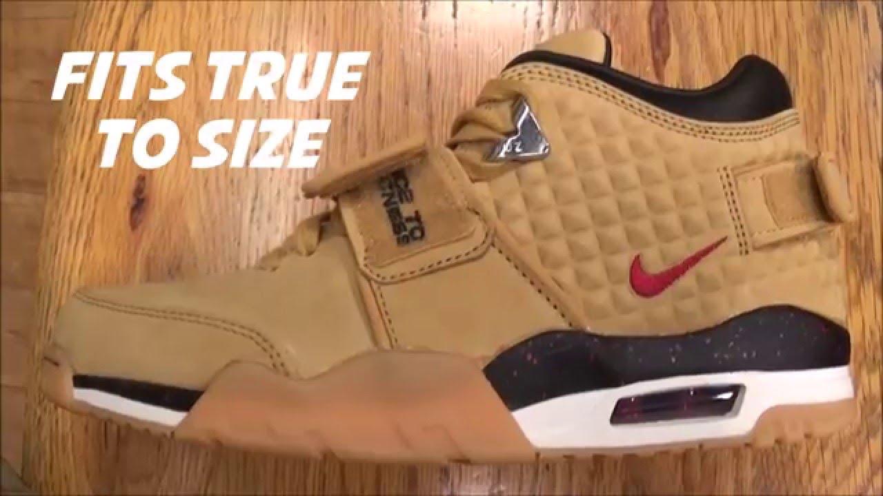 0a6fd552b2b6 Nike Air Victor Cruz Trainer Wheat Sneaker Review - YouTube