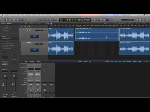 How to Join Mono Tracks to Create a Stereo Track in Logic Pro X