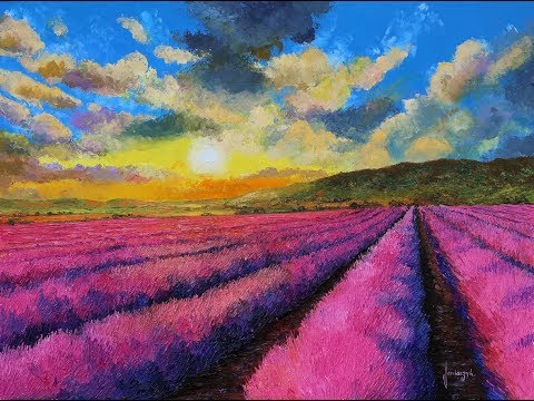 Landscape paintings of Jean-Marc Janiaczyk.