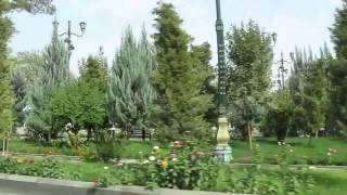 Копия видео Ашхабад 1 октября 2014 год вид из авто