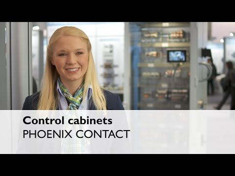 Control cabinets perfectly designed with Phoenix Contact cable systems - Phoenix Contact
