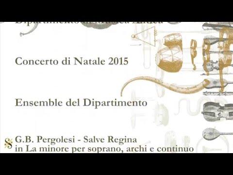 G.B. Pergolesi, Salve Regina in La minore (1/4)