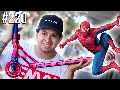 Spider-Man!! Custom Build #220 - Avengers Infinity War Special │ The Vault Pro Scooters