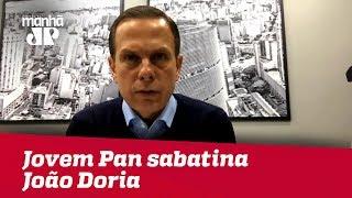Segundo turno - Eleições 2018: Jovem Pan sabatina João Doria (PSDB)