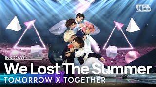 Download TXT(투모로우바이투게더) - We Lost The Summer(날씨를 잃어버렸어) @인기가요 inkigayo 20201115