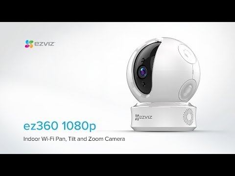 EZVIZ | Ez360 1080p Pan Tilt And Zoom Security Camera Features And Benefits
