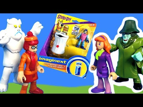 Imaginext Scooby Doo Toys with Velma and...