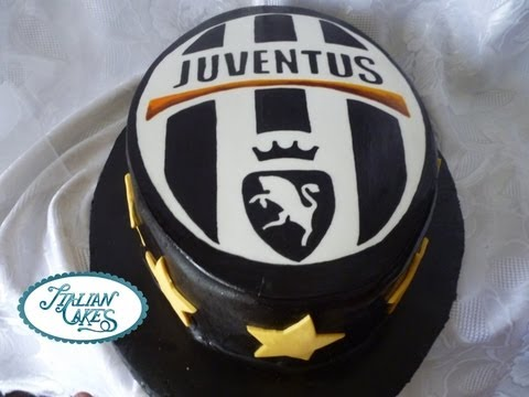Torta Di Compleanno Juventus Decorated Cake By Italiancakes