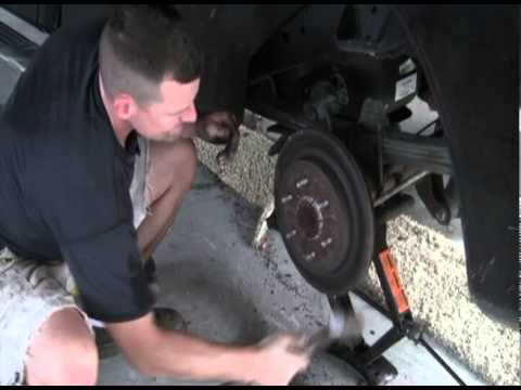 Nissan Titan Rear Brake Problem Youtube