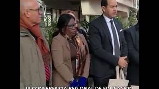 Mestre recibió al embajador de Marruecos y a rectores de universidades de Latinoamérica
