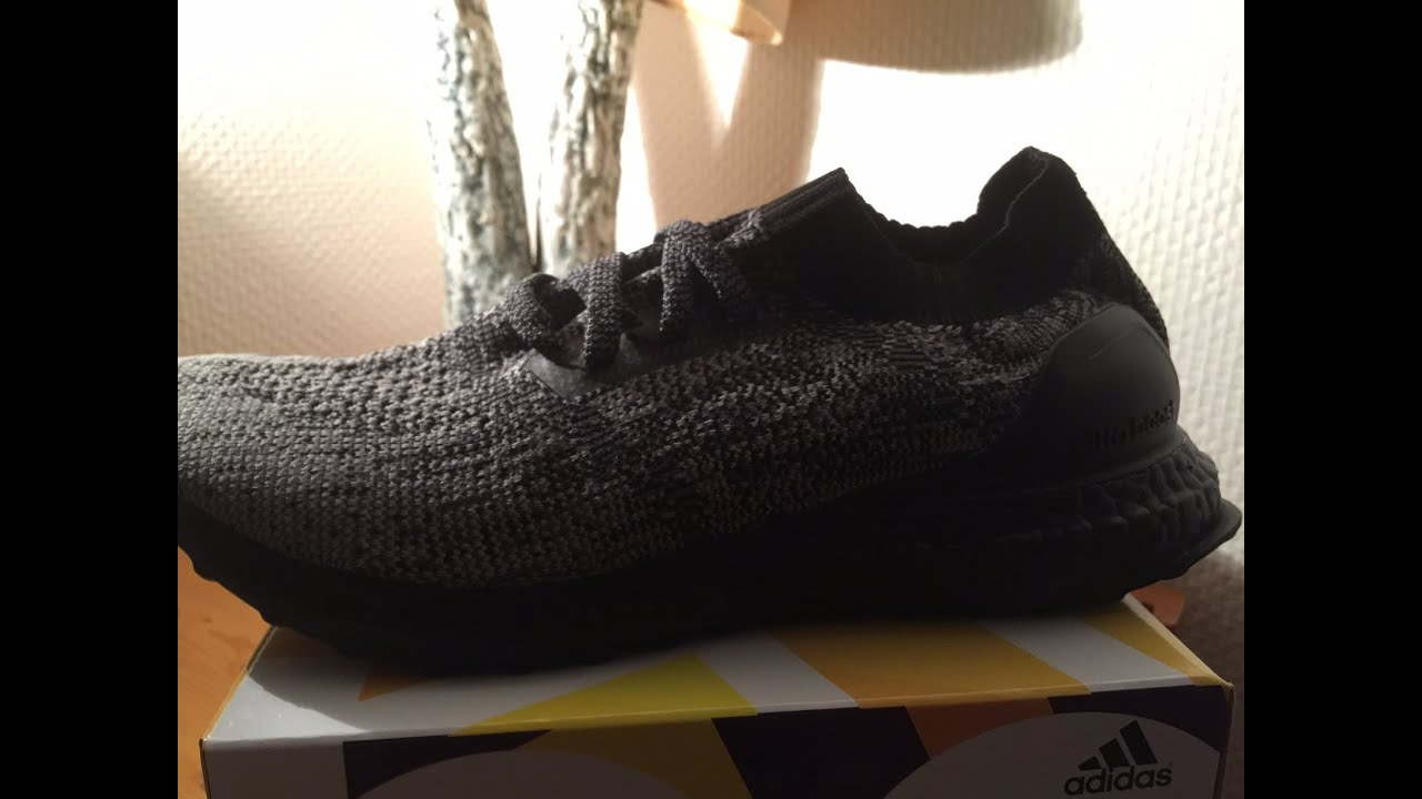 Adidas Ultra Boost Triple Black Uncaged