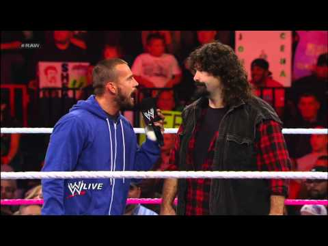 Mick Foley questions CM Punk's alliance with Paul Heyman: Raw, Sept. 24, 2012