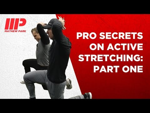 How to best do Active Stretching with Pro Trainer Andy O'Brien: Part One