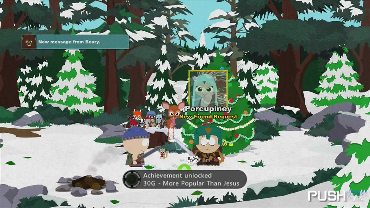 South Park: Stick Of Truth - Woodland/Christmas Critters Secret ...