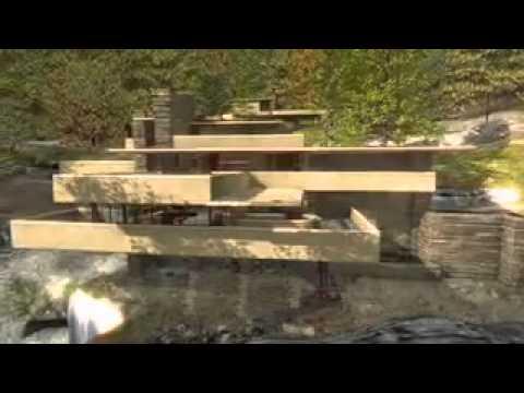 clsicos de casa en la cascada frank lloyd wright plataforma