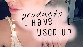 Products I've used up! Thumbnail