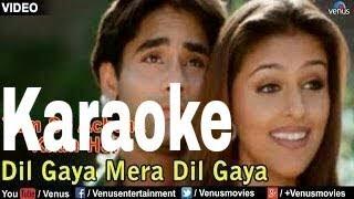 Dil Gaya Dil Gaya Mera Dil Gaya Karaoke - Tumse Achcha Kaun Hai ( 2003 ) Sonu Nigam