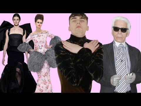 NO MORE KARL LAGERFELD?!?! (Chanel & Givenchy Spring 2019 Haute Couture Review)