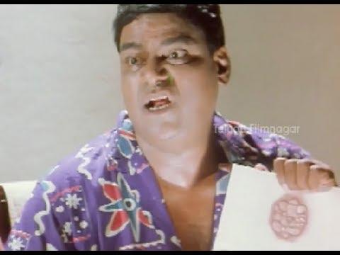 Kota Srinivasa Rao Funny English - Money Comedy Scenes - Bramhanandam