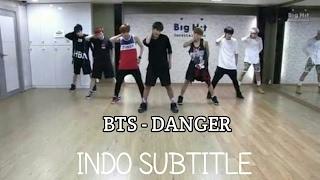 [INDO SUB] BTS - DANGER DANCE PRACTICE