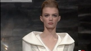 ARMANI PRIVE' Spring Summer 2010 Haute Couture   Fashion Channel