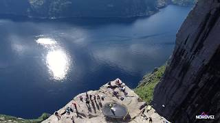 Прекестулен, Норвегия. Preikestolen, Norway - most visited natural tourist attractions in Norway