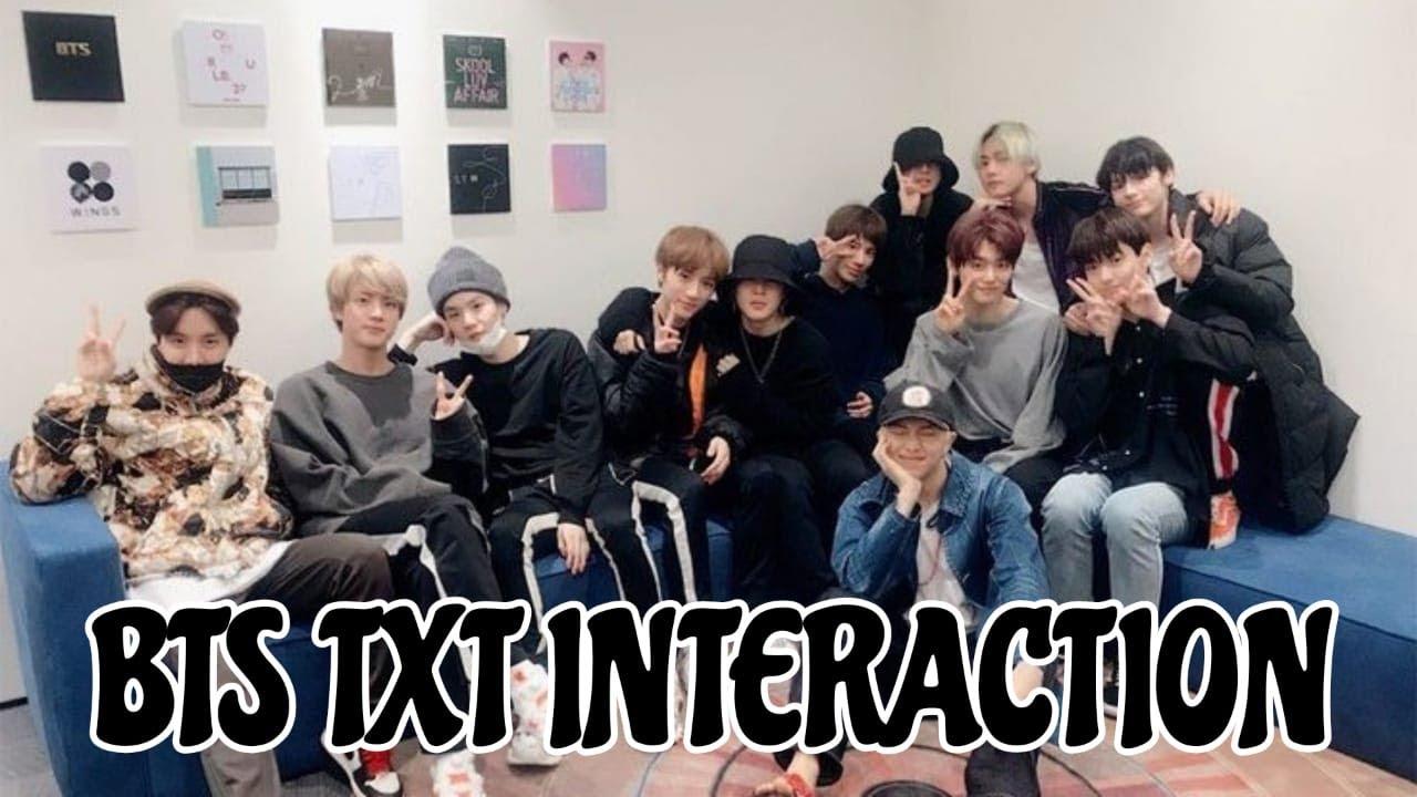 Download BTS TXT INTERACTION || Part 1