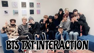 Download lagu BTS TXT INTERACTION || Part 1