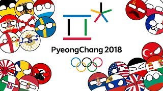 """Special Event"" Countryballs Winter Olympics PyeongChang 2018 