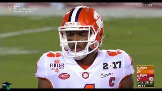 Repeat youtube video 2017 CFP Championship Rematch: Clemson vs Alabama (Cinematic Highlights)