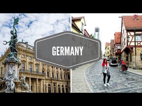 Germany! 🇩🇪 (Cologne/ Köln, Wurzburg, Lauf An Der Pegnitz) Travel Vlog | Kristen goes to Europe