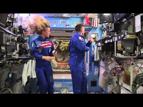 Space Station Crew Discusses Life in Space with Minnesota Media and the Navy