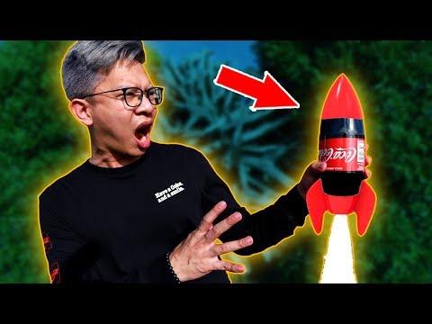 COCA-COLA + GAS HI-COOK = ROCKET!!! ROKET COCA-COLA!!!