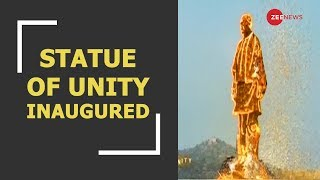 Live: PM Narendra Modi inaugurates 'The Statue of Unity' in honour of Sardar Vallabhbhai Patel