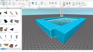 ROBLOX Come fare una piscina funziona! Per chi non sa