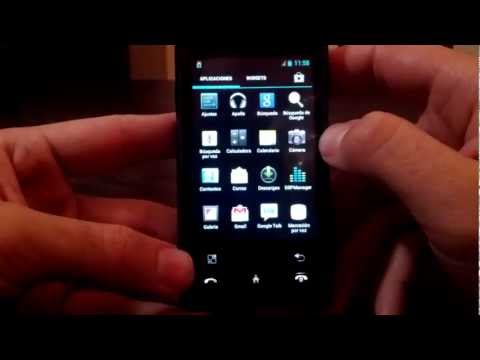 LG GT 540 (inicio) - Cyanogenmod 9