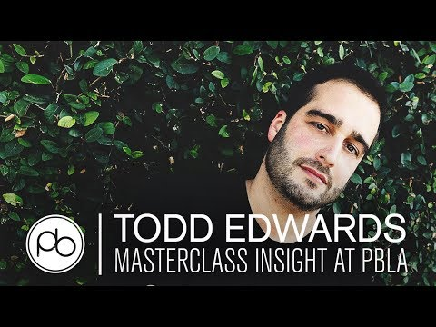 Todd Edwards Masterclass Insight at Point Blank LA