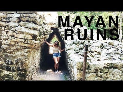 Mayan Ruins, travel vlog | Coba and Tulum Ruins