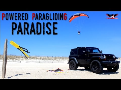 Paramotor in Paradise - Long Island Powered Paragliding Adventures!
