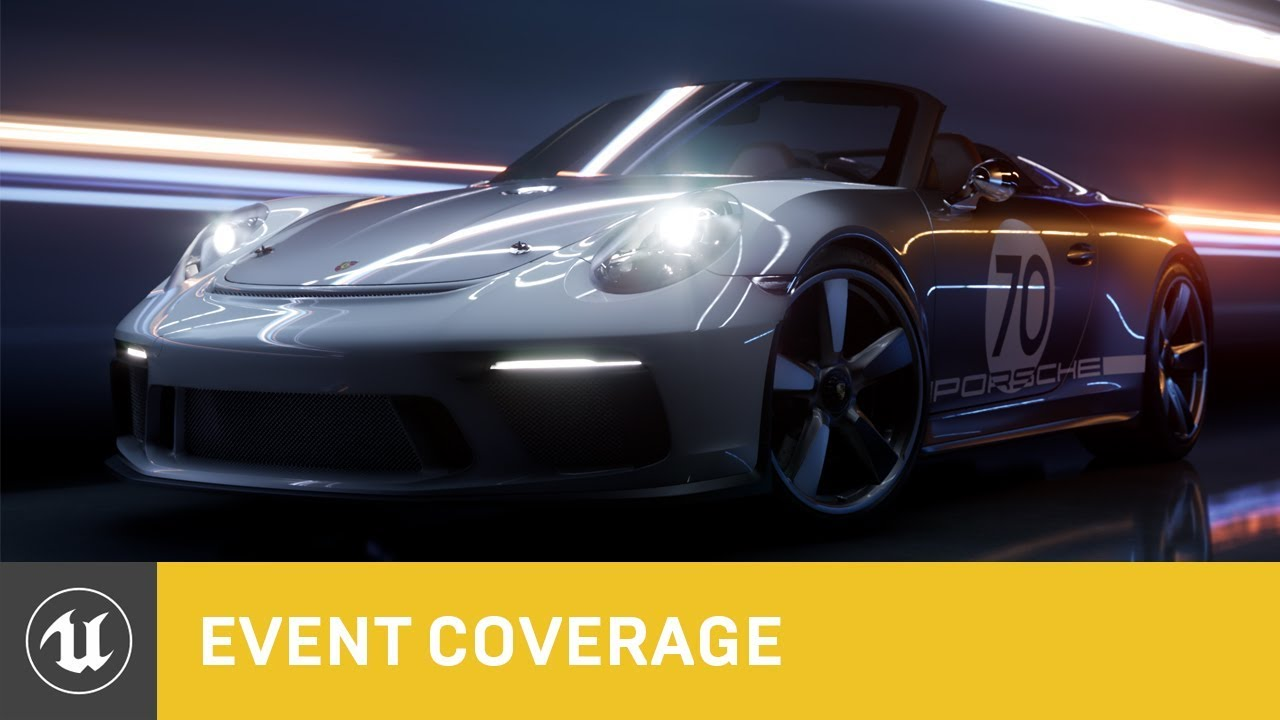 Porsche and Epic Games show off new lighting features for Unreal Engine