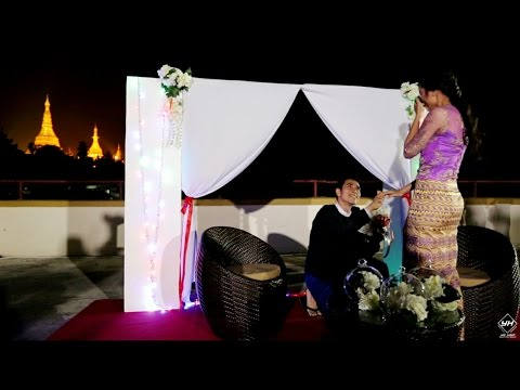The Proposal @Yangon, Myanmar