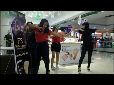 Maumere Dance.  Goyang Maumere ...Dance Cover By OPPO Bandung.
