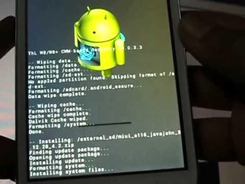 Install MIUI on Canvas HD A116/A116i