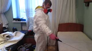 Уничтожение клопов в квартире(, 2014-01-15T16:20:05.000Z)