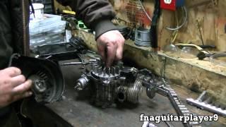 47 cc 2 stroke Mini Pocket Rocket Bike Rebuild Part 1 of 2 (Teardown)