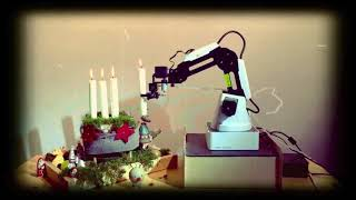 Merry Christmas with DOBOT Magician