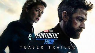 Marvel's FANTASTIC FOUR Teaser Trailer Concept - Phase 4 MCU John Krasinski, Emily Blunt Movie