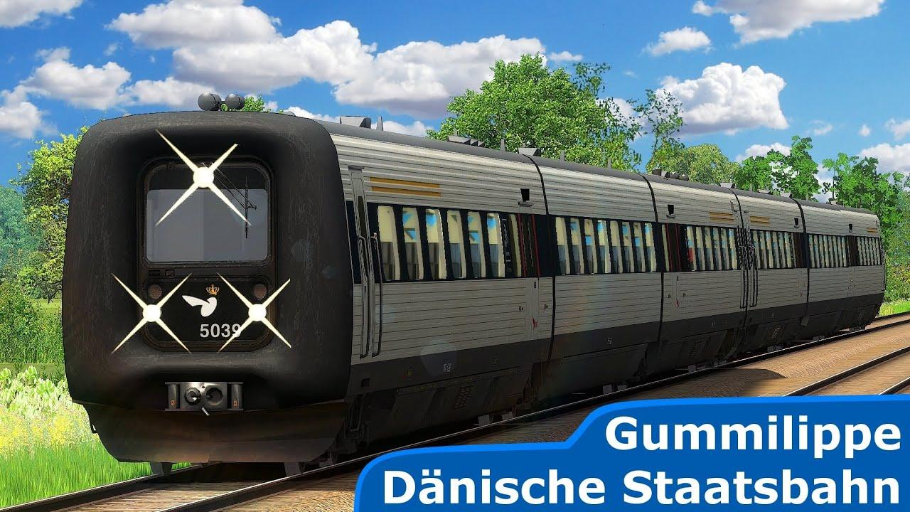 EUROCITY 231 | Vogelfluglinie: Lübeck – Puttgarden | TRAIN SIMULATOR 2020 | Gummilippe - DSB IC3